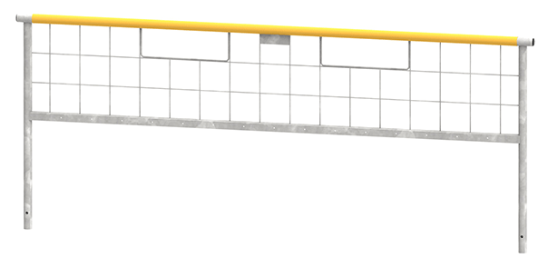 EdgeGuard® 3/4 Length Rail Hi-Clearnance