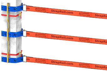 StrapRail® Column Post