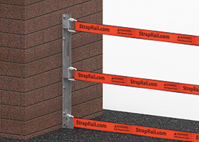 StrapRail® Wall Post