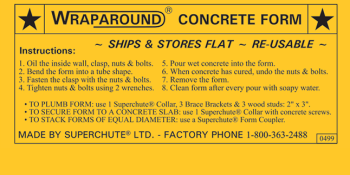 Wraparound® Instructions