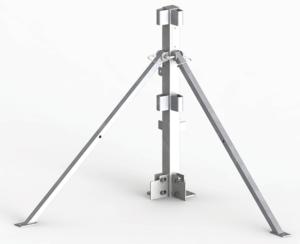 StrapRail® Corner Post no straps
