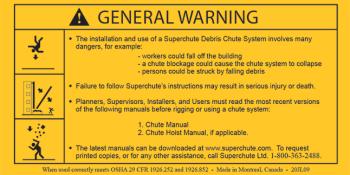 General Warning