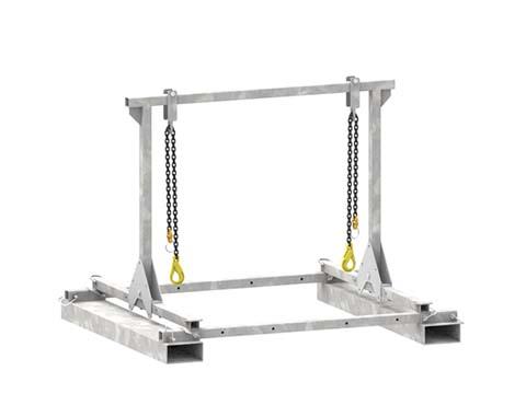 Superchute | Superchute Forklift Frame