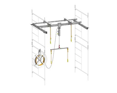 Superchute | Superchute Scaffold Hoist