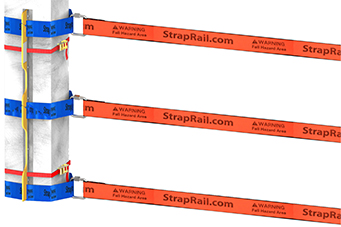 StrapRail® Column Post