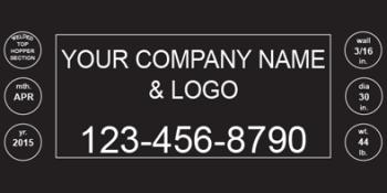 Custom Branding Plate
