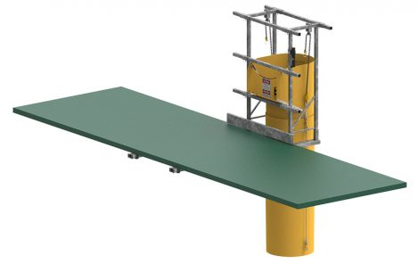 Mast Climber Suspension Frame