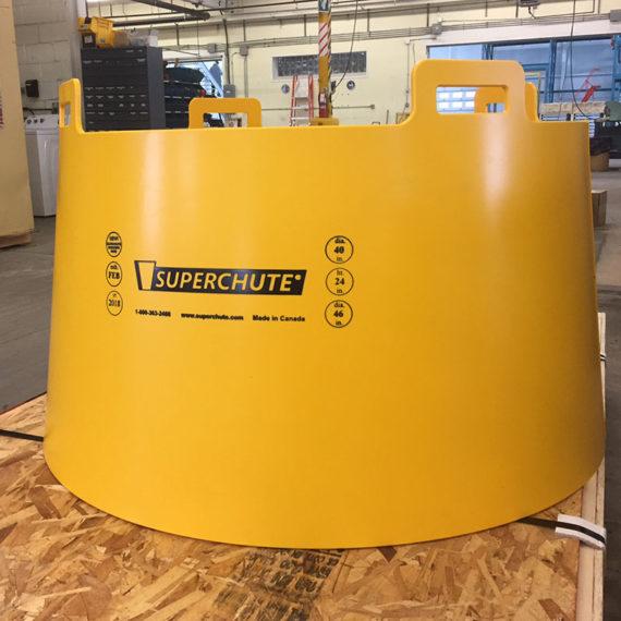 Superchute | Superchute Custom Plastic Column Forms